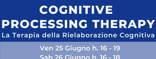 Workshop Introduttivo sulla Terapia della Rielaborazione Cognitiva